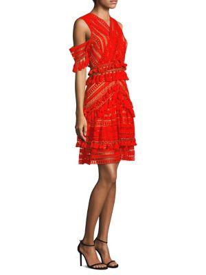 Thurley Flamenco Cutout Dress