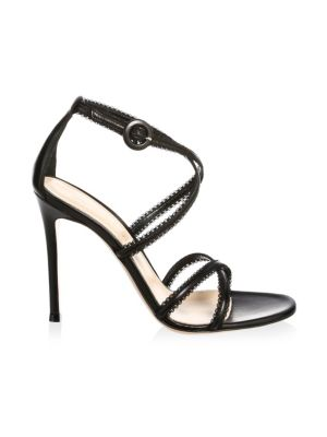 Criss Cross Strap Sandal by Gianvito Rossi