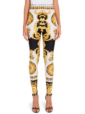Versace  Printed Leggings