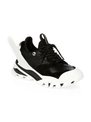 Carla Chunky Sneakers, White/ Black