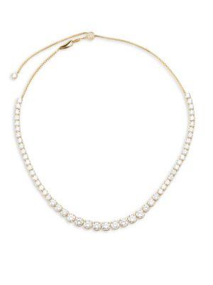 Adriana Orsini  Sterling CZ Essentials Graduated Adjustable Necklace