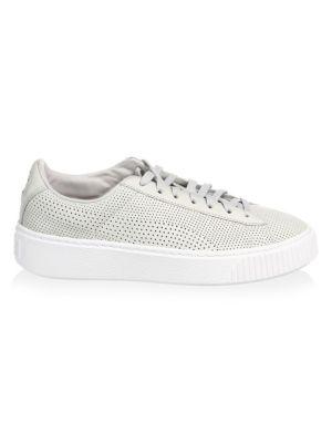 Basket Mini Platform Low Top Sneakers by Puma