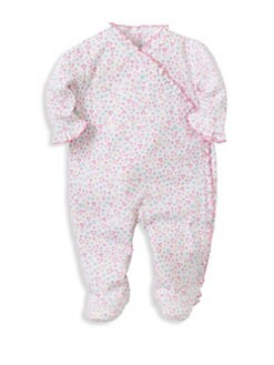 cfb0962f47a QUICK VIEW. Kissy Kissy. Baby Girl s Dina Heart-Print Footie