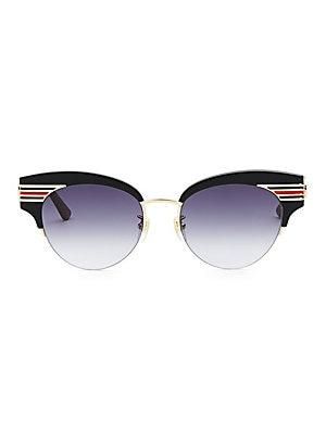 8ff07f07599 Gucci - Crystal Embellished Glasses - saks.com