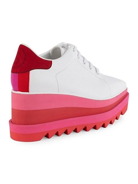 Stella Mccartney Sneak Elyse Platform Wedge Sneakers Saksfifthavenue