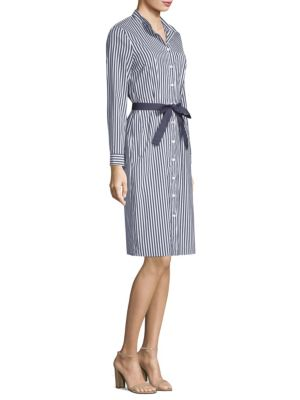 Peserico  Striped Shirt Dress