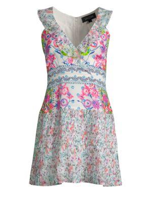 amy-silk-mini-dress by saloni