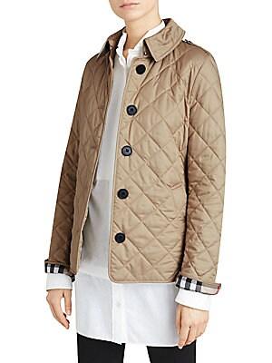 66ee2de2eba49 Burberry - Frankby Quilted Jacket - saks.com