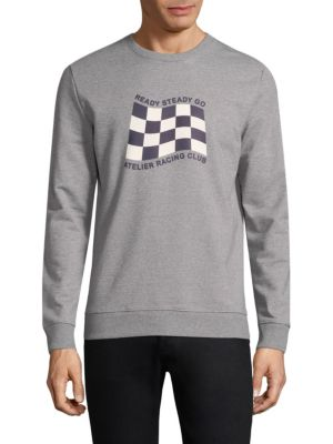 A.p.c.  Graphic Cotton Sweatshirt