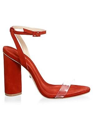 6b25b16e97d1 Schutz - Geisy Suede Ankle-Strap Sandals - saks.com
