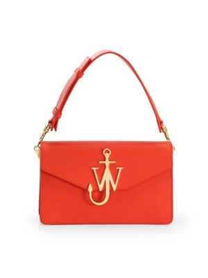 Leather Logo Handbag by Jw Anderson