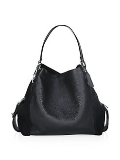 018b1dab94ab Product image. QUICK VIEW. COACH. Edie 42 Mixed Leather Shoulder Bag