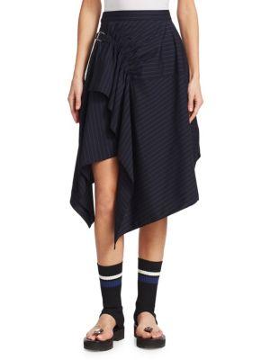3.1 Phillip Lim  Wool Handkerchief Skirt