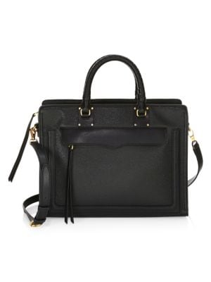 Bree Large Top Zip Satchel by Rebecca Minkoff