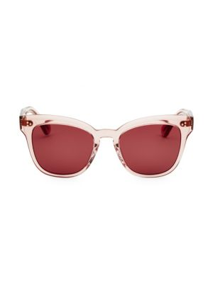 37d2ea1cc4b40 Saint Laurent - Loulou 54MM Heart Sunglasses - saks.com
