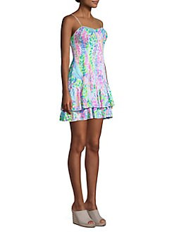 a1383ef337555d Lilly Pulitzer - Morgana Printed Tiered Dress