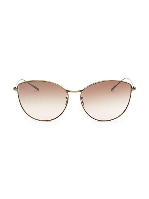 Rayette 60MM Cat-Eye Sunglasses