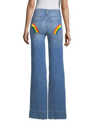 Gorgeous High Rise Flare Jeans by Ao.La By Alice + Olivia