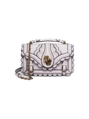 Bottega Veneta  City Knot Scalloped-Edge Leather Shoulder Bag