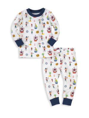 Babys TwoPiece Buccaneers Pajama Set