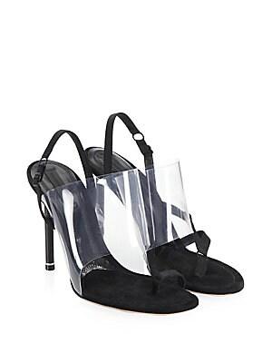 c16ad5ac887 Alexander Wang - Kaia PVC High Heel Sandals
