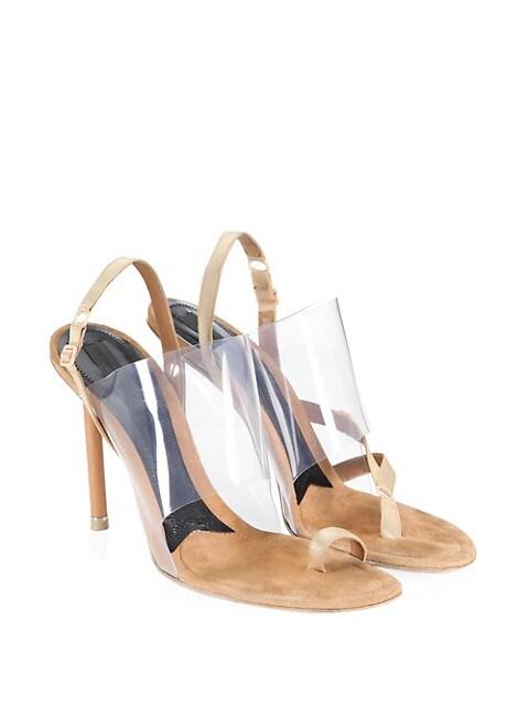 Alexander Wang Womens Nova Slingback High Heel Sandals