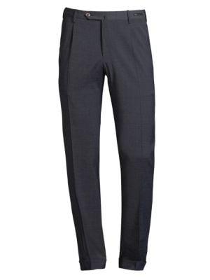 Pt01  Traveler Dressy Techno Wool Trousers