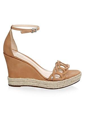 bca7e1ea4b3 Schutz - Dyandre Braided Leather Espadrille Wedge Sandals - saks.com
