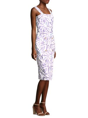 Zolder Floral Sheath Dress by Max Mara