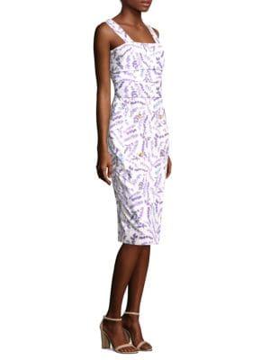 Zolder Floral Sheath Dress by Max Mara