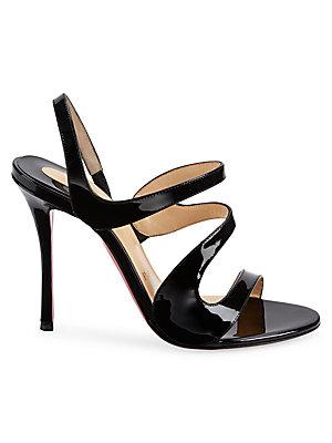 9dc525570224 Christian Louboutin - Vavazou 100 Leather Sandals - saks.com