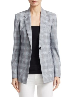 Maple Check 2 Power Jacket, Blue