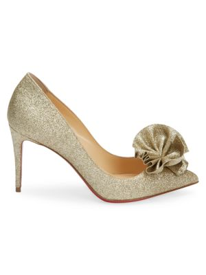 Anemosea Glitter Pumps by Christian Louboutin
