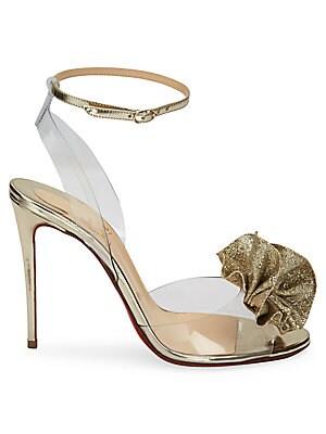 cc7a7c4933 Christian Louboutin - Fossiliza 100 Glitter Sandals - saks.com