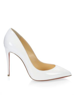 the latest d8cf2 a742e Pigalle Follies 100 Patent Leather Pumps in Latte