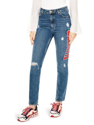 Sandro  Hortense Distressed Jeans