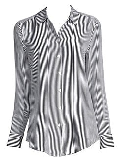 b95deaf60c54c6 QUICK VIEW. Equipment. Essential Striped Silk Blouse