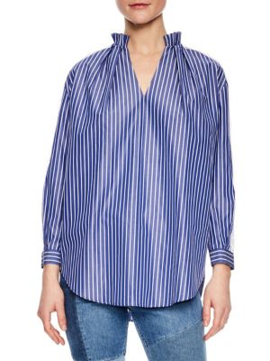 Sandro  Daniela Striped Shirt