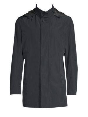 SANYO Myrtle Trench Coat in Midnight