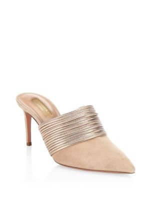 Rendezvous Mules by Aquazzura
