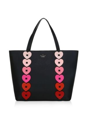Yours Truly Ombre Heart Leather Tote by Kate Spade New York