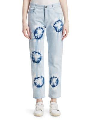 Boyfriend Tie-Dye Jeans