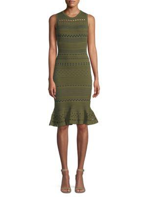 Milly Knit Lace Dress