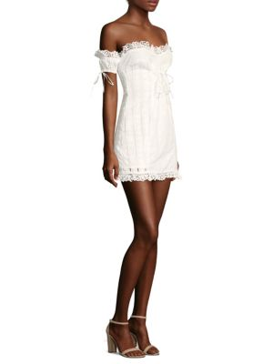 Anabelle Eyelet Lace Dress by For Love & Lemons