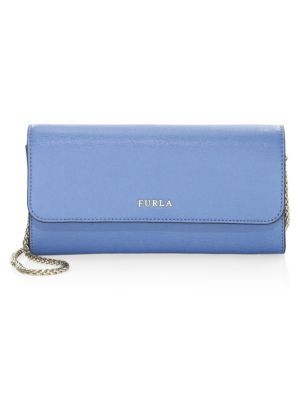 Babylon Chain Leather Wallet by Furla