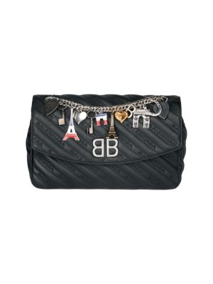 Quilted Leather Crossbody Bag by Balenciaga