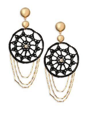 Ettika Disc Gypsy Hoop Earrings