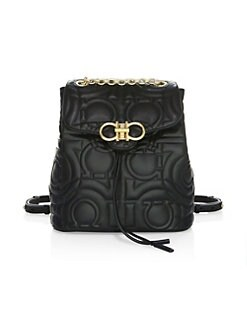 Product image. QUICK VIEW. Salvatore Ferragamo. Quilted Backpack 2a7acecc2a05c