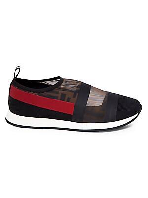 pre order footwear distinctive design Fendi - Logo Mesh Sneakers