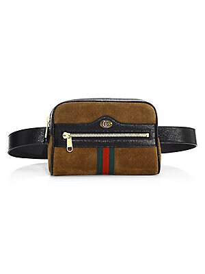 7e57970f782 Gucci - Ophidia Small Seude Belt Bag - saks.com